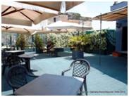 Dachterrasse Hotel Royal Orto Botanico